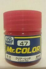 Gunze Sangyo Mr Color C-47, Gloss Clear Red.