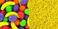 1 LB RUNTS + 1 LB BANANARAMA BANANA HEADS CANDY = 2 POUNDS TOTAL - FRESH STOCK!