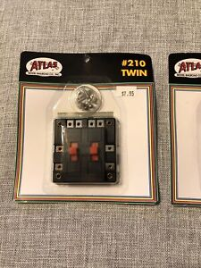 Atlas Twin Electrical Control Unit #210 NEW ON SEALED CARD NEW OLD STOCK