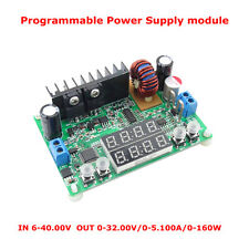 DC 32V Voltage 5 Amp Experimenters Power Supply Module CC/CV LED Display KIT DIY