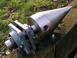 Bausatz fuer  Kegelspalter,Drillkegel  Dm 140 mm,mit Lagern und Aufnahme