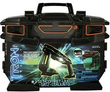 """Tron Legacy Carry Case ~ with one 3"""" light cycle"""