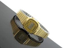 Casio Women's Digital Alarm Gold Tone Vintage Watch LA670WGA-9 LA670 LA670WGA