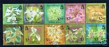 Solomon Is 2004 Orchids SG1061/70 MNH