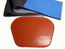 Very Large motorcycle seat gel pad Installation Kit, 1+1/4 inches thick!! Soft!!