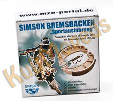 Simson Bremsbacken Bremsen S51 S70 S50 KR51 Schwalbe SR50 S53 Tuning geschlitzt