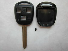 3 BUTTON REPLACEMENT REMOTE SHELL AND KEY BLANK