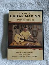 Acoustic Guitar Making With Frank Finocchio Dvd 5 Disc Set