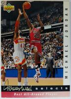 1992-93 Upper Deck Michael Jordan Best All-Around Player #JW8 Jerry West Selects