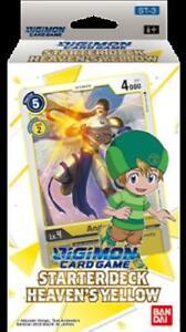 Digimon Card Game Starter Deck Heaven's Yellow