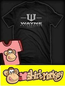 Batman Wayne Enterprises inspired T-shirt - Ladies and Gents in Many Colours