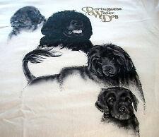 "Portuguese Water Dog T-shirt "" Natural "" 3Xl ( 54 ~ 56 )"