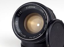 AUTO REFLECTA 1.7/55 M42 mount JAPAN with front Cap