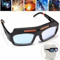 Solar Powered Auto Darkening Welding Helmet Eyes Goggle Welder Glasses Arc 2020