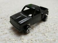 """Vintage Tootsietoy Black Chevy Step Side Pickup Truck Diecast - 2"""" Long"""