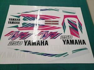 Yamaha TYZ  250, TY 250Z  Full Decal Set