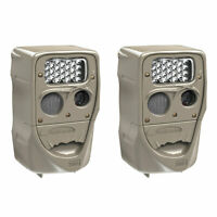 Cuddeback Power House 20MP Super Simple Setup Silver Flash Trail Camera (2 Pack)