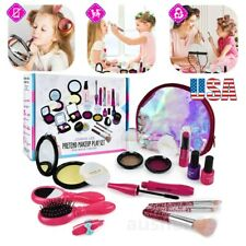 16Pcs Pretend Play Cosmetic Makeup Toy Xmas Gift Little Girls Kids Beauty Toy US