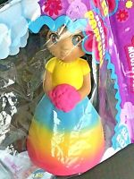 """Soft N Slow Squishies Best Buddies Doll Scented Rainbow Flower Girl 6.5"""" NEW"""