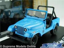 DHARMA JEEP CJ7 LOST MODEL CAR 1:43 SCALE 1977 GREENLIGHT 86309 4X4 OFF ROAD K8Q
