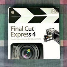 Final Cut Express 4 Retail MB278Z/A - 885909193417