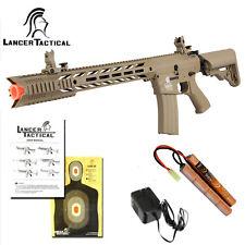 Lancer Tactical LT-25 Gen 2 Interceptor SPR Automatic M4 AEG Airsoft Rifle Tan