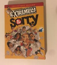 Extremely Sorry Flip Skateboards DVD Collectors Edition Vans Shane Cross