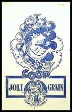 Buvard Publicitaire, COOP - Joli Grain - Vin supérieur