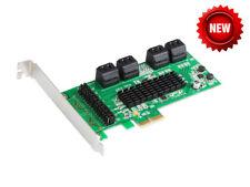 IOCrest 8 Port SATA 3.0 (6Gb/s) PCI Express card, Marvell chipset IO-PCE9705-8I