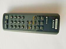 Sony Video CD Compact Disc Remote Control RM-DV8000 D-V8000