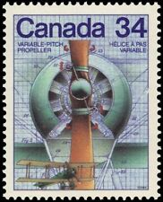 """CANADA 1102 - Science and Technology """"Variable Pitch Propeller"""" (pa88281)"""