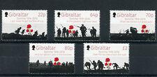 Gibraltar 2016 MNH Battle of Somme 100th Anniv 5v Set WWI World War I Stamps