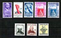 Repubblica - 1° Periodo - non linguellati - perfetti - Lotto 25 francobolli