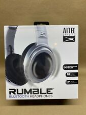 NEW Altec Lansing MZX701 Rumble Bass Boosted Bluetooth Headphones
