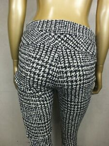 CUE PANTS : HOUNDSTOOTH CHECK PLAID : SIZE 10 : PERFECT CONDITION