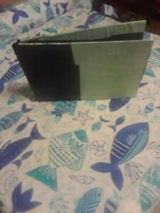 Black And Mint Green Photo Album With 40 Pages