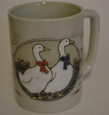 Vintage ~ Otagiri ~ Goose Geese ~ Coffee Cup Mug ~ Country Farm House ~ Japan