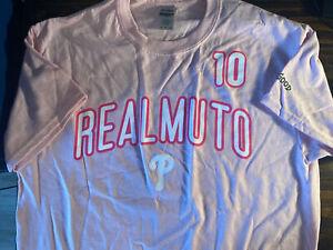 Philadelphia Phillies J T REALMUTO MOTHERS DAY ADULT M T-Shirt SGA 05/02/21