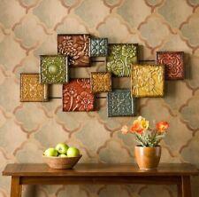 Wall Sculpture, Bijou Metal Wall Art Decor, Abstract Pattern Home Wall Sculpture