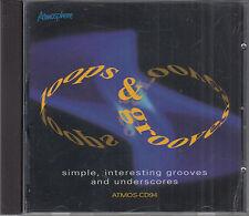 Loops & Grooves  Atmosphere Music Library CD FASTPOST