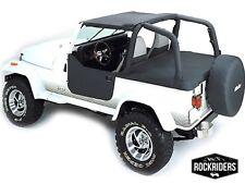 1992 1995 Jeep Wrangler Bikini Top Amp Deck Tonneau Cover For Soft Top Model Black Fits 1994 Jeep Wrangler