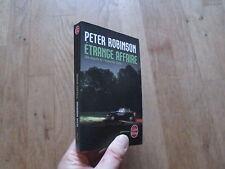 POCHE 31101 PETER ROBINSON inspecteur banks etrange affaire 2010