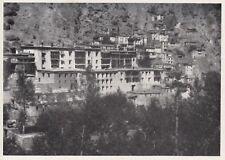 D8128 - Tibet - I Templi maggiori nel Gompa di Hìmis - Stampa - 1931 old print