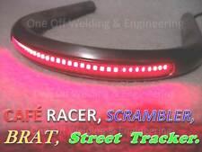 Cafe Racer Street Tracker Scrambler Frame Loop / Hoop Tube with LED Brake Light