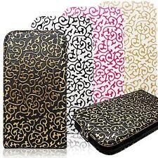 Design Klapp Handy Tasche Flip Etui Schutz Hülle Hard Case Clip Cover Schale Bag