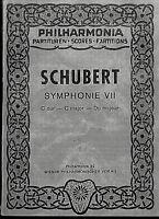 Taschenpartitur: SCHUBERT - Symphonie VII C-Dur