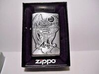 NEW ZIPPO LIGHTER 2015 I-15 HARLEY DAVIDSON 3D PLAQUE EAGLE MADE IN USA WITH BOX