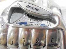 Used RH Mizuno MX19 Iron Set 4-9 Dynalite Gold Steel Shafts Regular Flex MX-19
