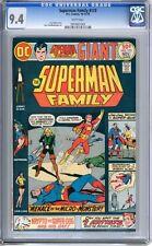 Superman Family   #173   CGC   9.4   NM    White pgs  10-11/75  Kurt Schafferber