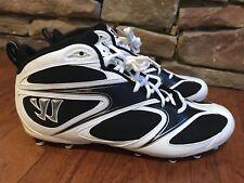 8bd4e2f71 Warrior Burn Speed 4.0 Molded Mens Lacrosse Cleats Size 13
